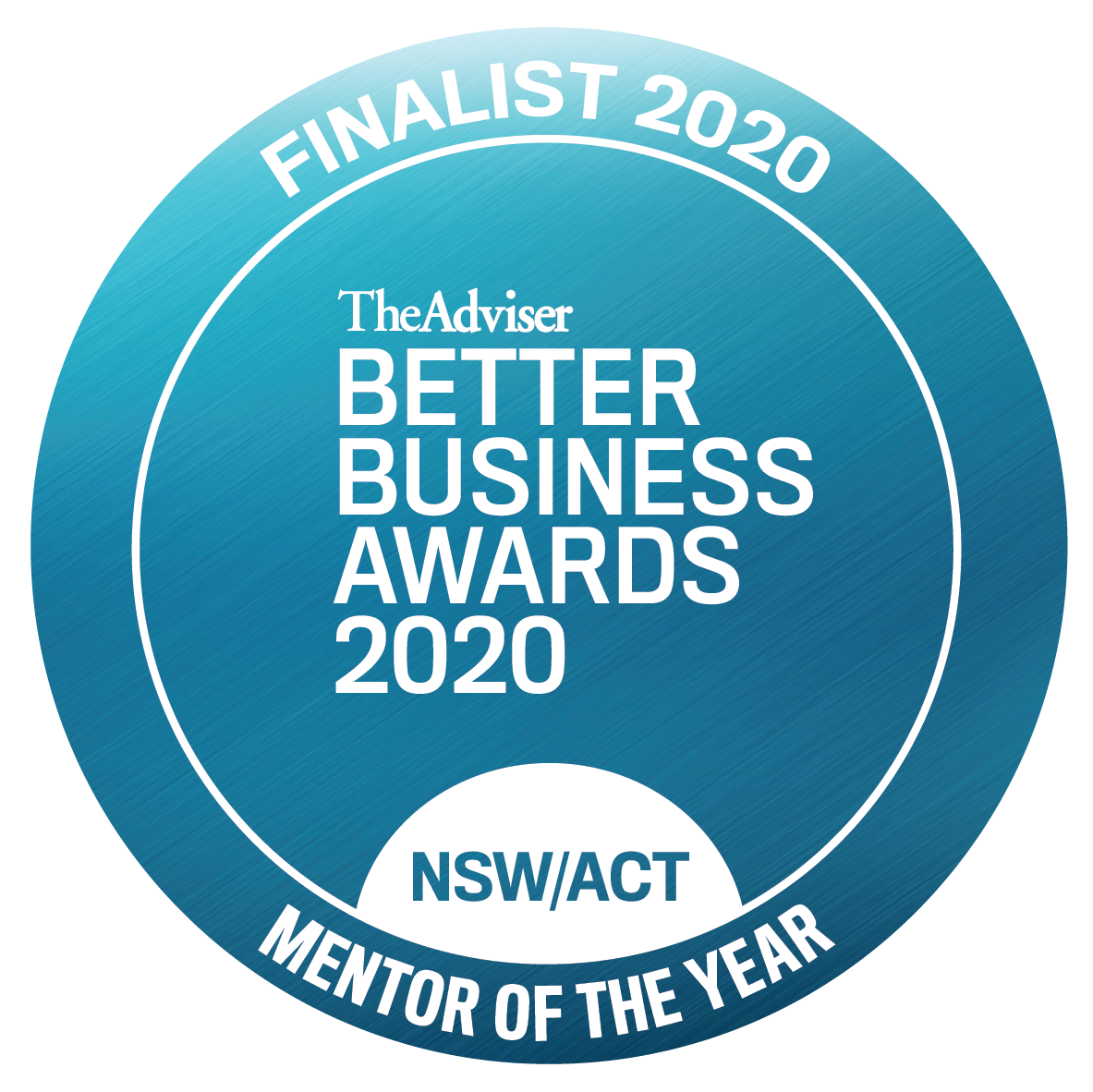 BBA 2020 finalist NSW Mentor of the Year
