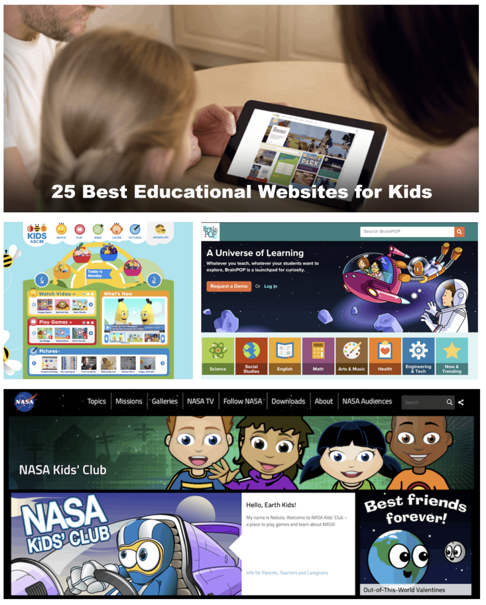 25 edu websites for kids