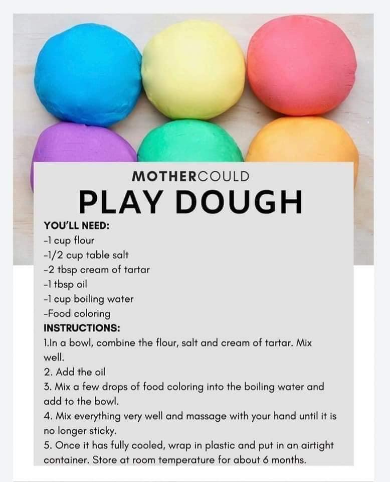DIY - play dough