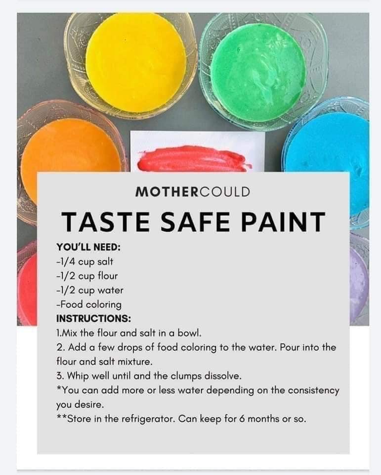 DIY - safe paint