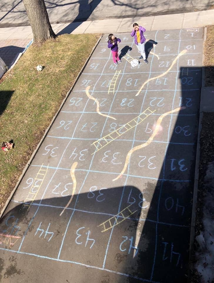 life size snakes and ladders