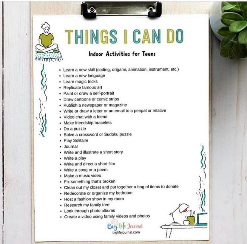 things i can do - teen 2